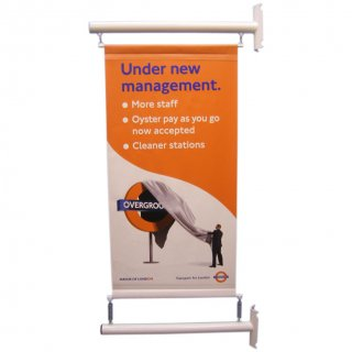 Post Mounted 60cm Banner Pole kit