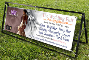 Banner Frame The Wedding Fair