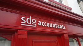 Fascia Signs sdg accountants